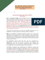 NDA - Guidelines