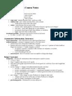 AP Microeconomics Course Notes