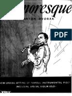 Humoresque Piano Violin and Lyrics