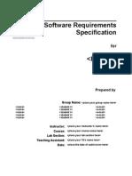 SRS Template IEEE