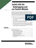 Dsc (Dataloggin and Supervisory Control Module)