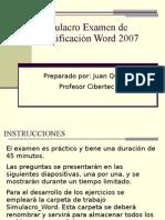 Examen de Certificacion Word 2007
