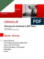 Skinning and Javascript