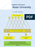Finalized Academic Structure