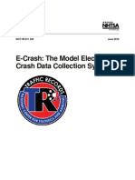 Model Electronic Crash Data