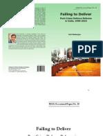 OP_defencereform IDSA Occasional Paper Anit Mukherjee
