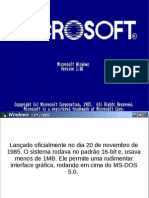 Evolucao Windows