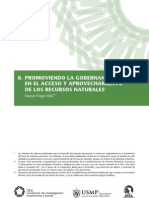 Promoviendo la gobernanza en el acceso y aprovechamiento de los recursos naturales (Manuel Pulgar-Vidal)