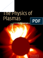 The Physics of Plasmas Boyd