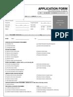2010 International Application Form