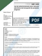 NBR_14095_2003_Área de Estacionamento Para Veículos Rodoviários de Transporte de Produtos Perigosos