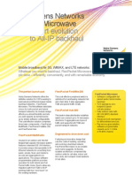 FlexiPacket Microwave Smart Evolution to All-IP Backhaul[1]