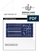 GLP Light Operator 24 - English