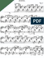 Arietta Opus 12 Grieg