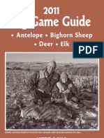 2011 Big Game Guide