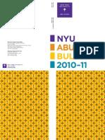 NYUAD Bulletin.2010 11