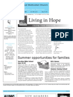 Newsletter - May 27, 2011
