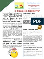 Week 36 Newsletter