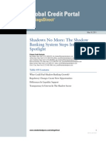 S.&P. Report on Shadow Banking