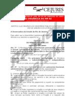 LEI ORGÂNICA DO MINISTÉRIO PÚBLICO DO ESTADO DO RIO DE JANEIRO