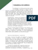 Geografía y desarrollo en América Latina