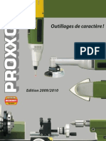 Catalogue Proxxon Micromot Fr