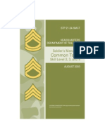 Stp 21 24 Smct Soldiers Manual of Common Tasks Skill Levels