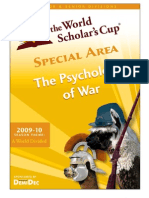 Psychology of War Resource