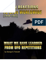 Human Reaction to UFO WorldWide by Col. Fawcett