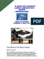 Nazi History of Alien Contact