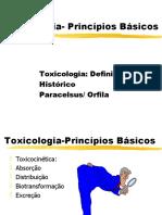 Toxicologia - Princípios Básicos