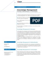 Etude Paribas Knowledge Management