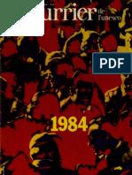 Le Courrier de l'UNESCO Janvier 1984
