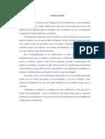 CONCLUSIÓN-Obligaciones del Usufructuario en los articulados del 601 al 631 código Civil