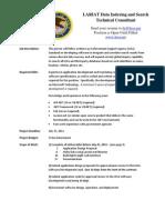 LARIAT Data Integration Consultant