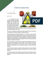 EHEC Symptoms vs Radiation Poisoning