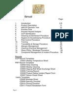 Haccp Manual