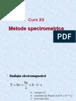 11. Metode spectrometrice