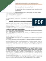 (Resumen Ok) Naturaleza Del Derecho Internacional Privado