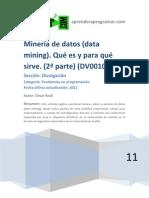 258_DV00106A Mineria de Datos Data Mining Ques Es Para Que Sirve 2