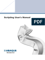 Script User's Manual - Abaqus