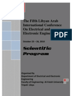 The Fifth Libyan Arab International Conference On Electrical and Electronic Engineering