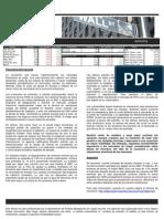 Reporte de Mercado Semanal 26-05