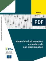 Manuel de droit européen en matiere de non discrimination