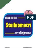 Bahan Ajar Stoikiometri