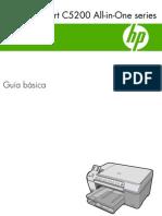 Manual Impresora HP Photo Smart C5280