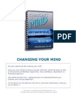 Change Your Life -Transform Your Mind
