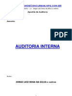 Apostilas de Auditoria Interna