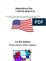 What Justice Is Powerpoint Lesson