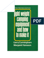 Cunningham, GERRY and Hansson,Meg -- Light Weight Camping Equipment How to Make It 1959 SCRIBD